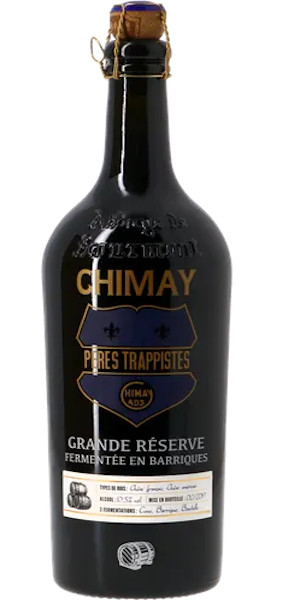 A product image for Chimay Barrel Aged