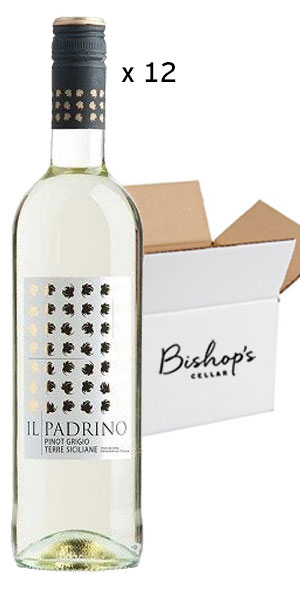 A product image for Full Case Il Padrino Pinot Grigio