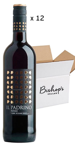 A product image for Full Case Il Padrino Rosso 1L