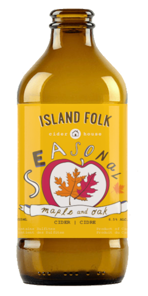 A product image for Island Folk Maple & Oak Cider