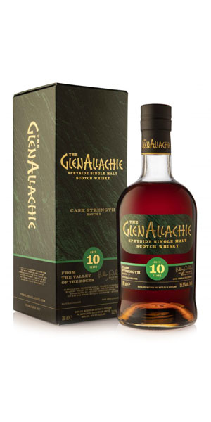 A product image for GlenAllachie 10 YO Cask Strength