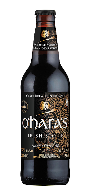 A product image for O'Hara's Irish Dry Stout