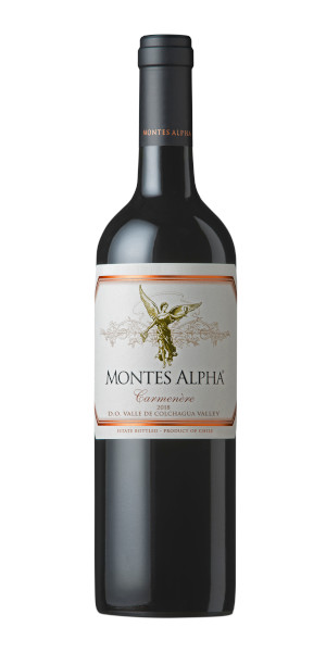 A product image for Montes Alpha Carmenere