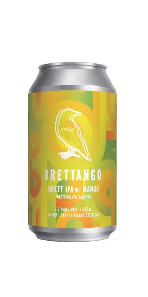 A product image for 2 Crows Brettango Brett IPA