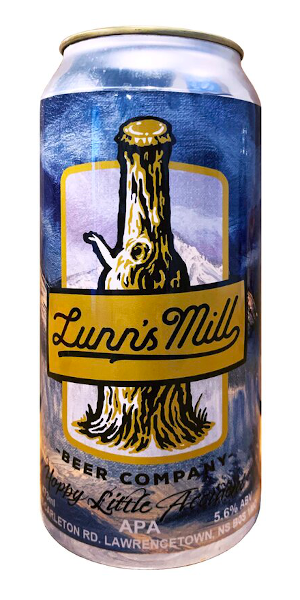 A product image for Lunn's Mill Hoppy Little Accident APA