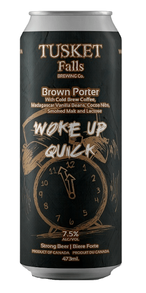 A product image for Tusket Falls Woke Up Quick Porter