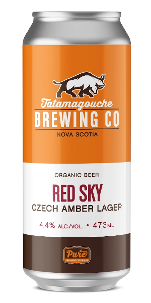 A product image for Tata Red Sky Czech Amber Lager