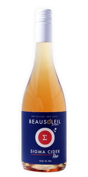 A product image for Beausoleil Sigma Rose Cider