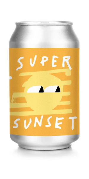 A product image for Slake Brewing Super Sunset Pale Ale