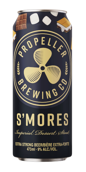 A product image for Propeller S'mores Imperial Dessert Stout