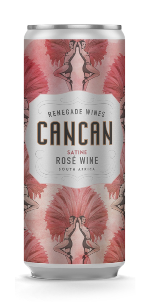 A product image for Cancan Satine Rosé