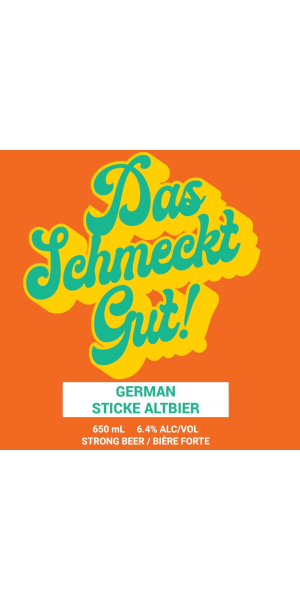 A product image for Big Spruce Das Schmeckt Gut! Sticke Altbier