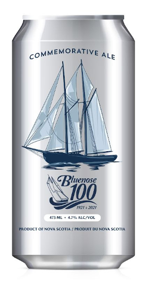 A product image for Saltbox Bluenose 100 Commemorative Ale