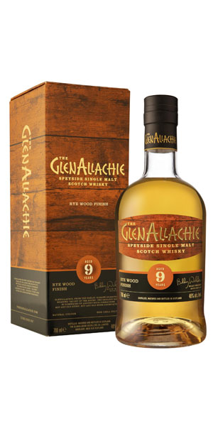A product image for GlenAllachie 9YO Rye Cask