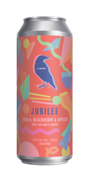 A product image for 2 Crows Jubilee Sour