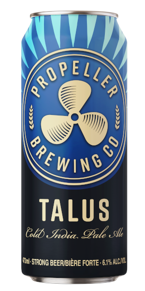 A product image for Propeller Talus Cold IPA