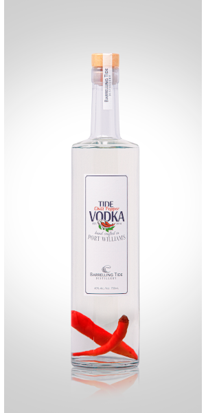 A product image for Barrelling Tide Chili Vodka