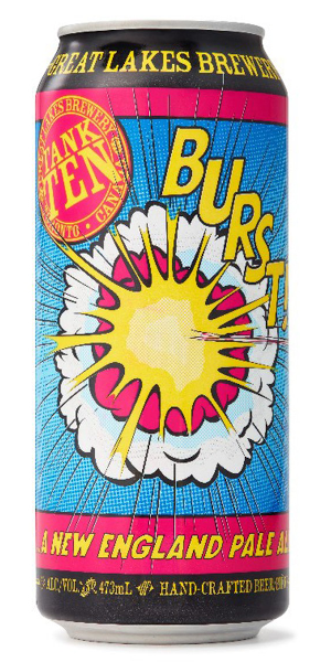 A product image for Great Lakes Burst New England Pale Ale