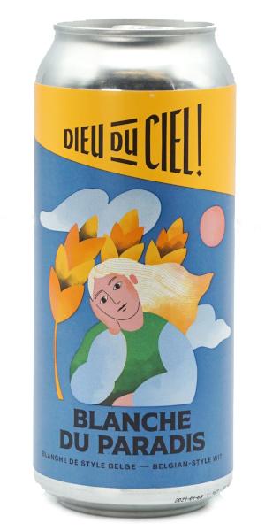 A product image for Dieu du Ciel Blanche du Paradis Witbier