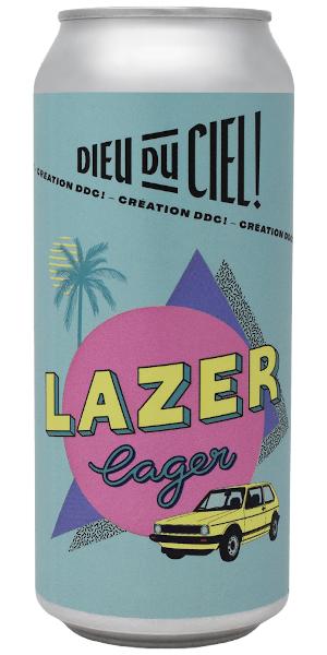 A product image for Dieu du Ciel Lazer Lager