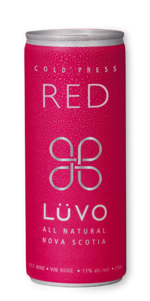 A product image for Luvo Cold Press Red