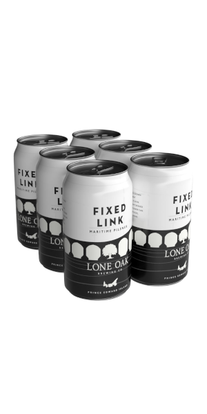 A product image for Lone Oak Fixed Link Pilsner 6pk