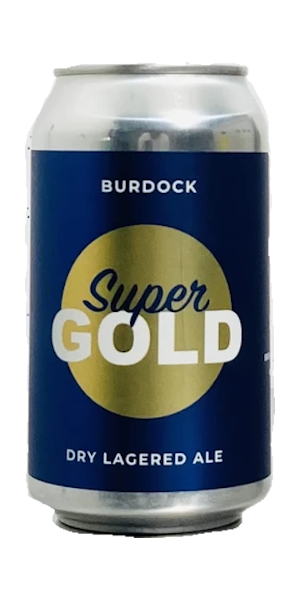 A product image for Burdock Super Gold – Lagered Ale