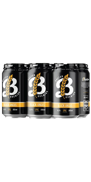 A product image for Breton Black Angus IPA 6pk