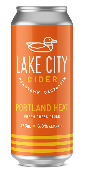 A product image for Lake City Portland Heat Cider
