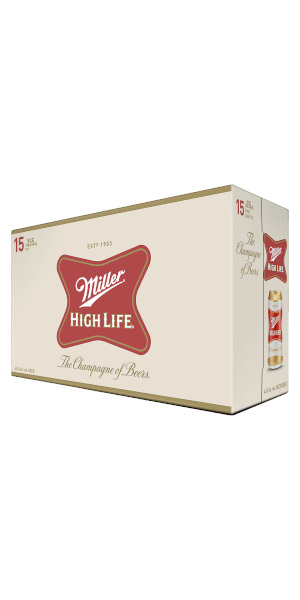 A product image for Miller High Life 15pk