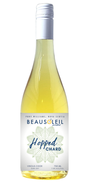 A product image for Beausoleil Hopped Chard Cider