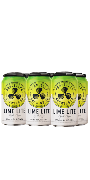 A product image for Propeller Lime Lite 6pk