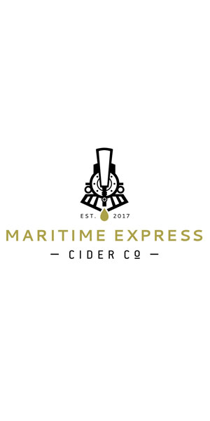 A product image for Maritime Express Riesling Orange Cider