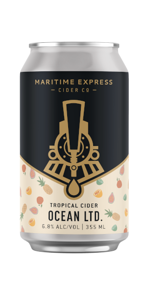 A product image for Maritime Express Ocean LTD. Tropical Cider
