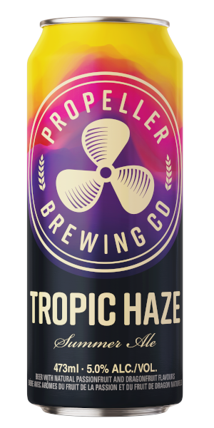 A product image for Propeller Tropic Haze Summer Ale