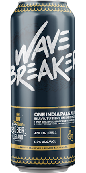 A product image for Sober Island Wave Breaker IPA
