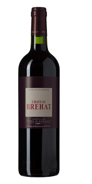 A product image for Chateau Brehat Cotes de Castillon