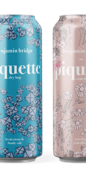 A product image for Benjamin Bridge Piquette Mix 6 pack White & Rose