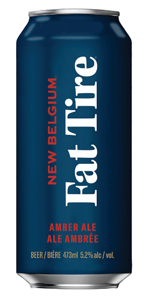 A product image for New Belgium Fat Tire Amber Ale