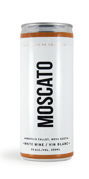 A product image for Grand Pre Moscato Can