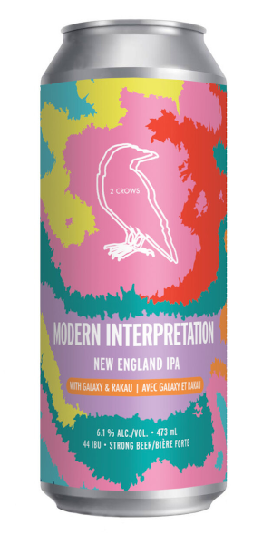 A product image for 2 Crows Modern Interpretation IPA