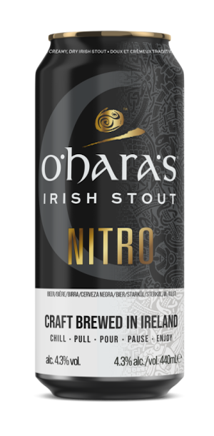 A product image for O'Hara's Irish Stout Nitro Can