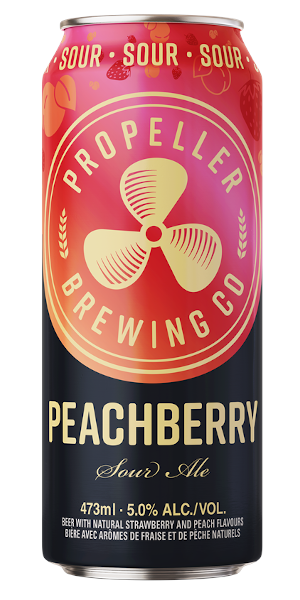 A product image for Propeller Peachberry Sour