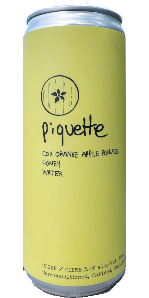 A product image for Sourwood Piquette Cider