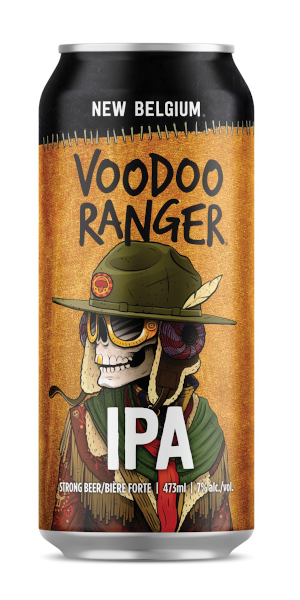A product image for New Belgium Voodoo Ranger IPA