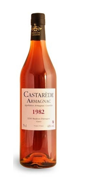 A product image for Armagnac Castarede 1982