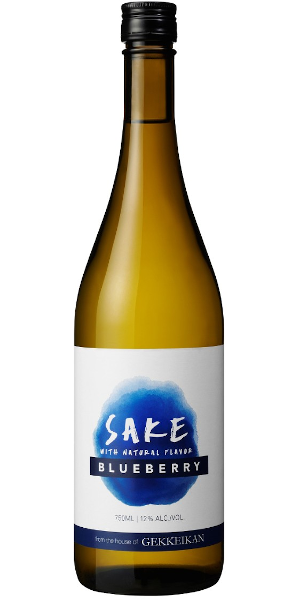 A product image for Gekkeikan Blueberry Sake