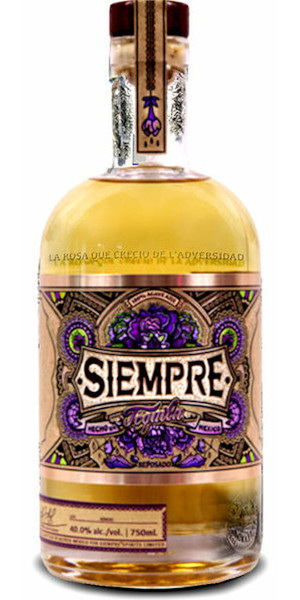 A product image for Siempre Tequila Reposado