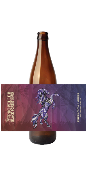 A product image for Propeller Black Forest Sour