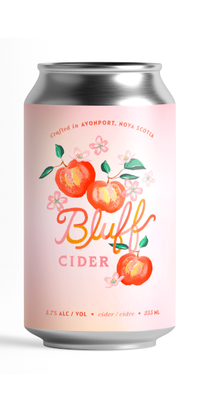 A product image for Bluff Cider Can